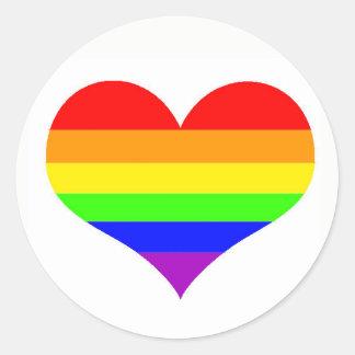 Etiqueta simples do orgulho gay