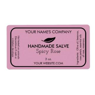 Etiqueta Soapmaking moderno feito sob encomenda do sabão ou