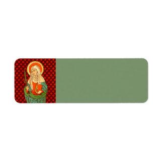 Etiqueta St. Apollonia (VVP 001)