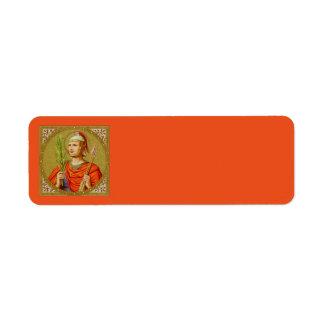 Etiqueta St. Sebastian (SNV 24) (imagem quadrada)