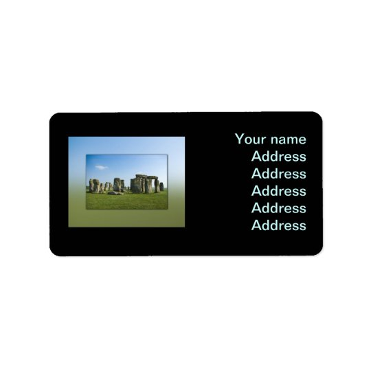 Etiqueta Stonehenge