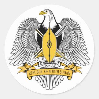 Etiqueta sul da brasão de Sudão