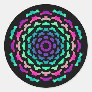 Etiqueta Tema Mandala cores