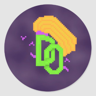 Etiqueta temida redonda do logotipo das opiniões