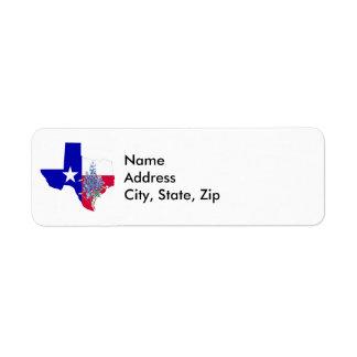 Etiqueta Texas e Bluebonnets