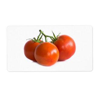 Etiqueta Tomates