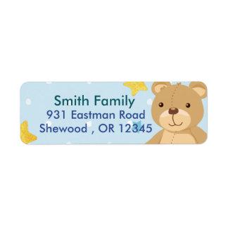 Etiqueta Urso de ursinho
