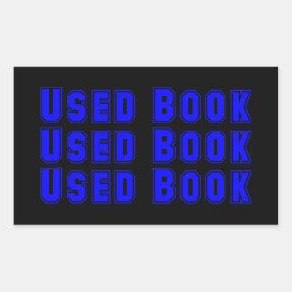 Etiqueta usada do livro