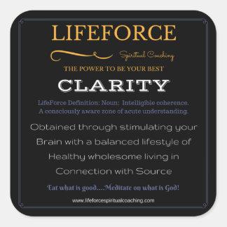 Etiquetas 20PK de LifeForce: CLARIDADE