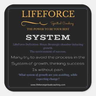 Etiquetas 20PK de LifeForce: SISTEMA