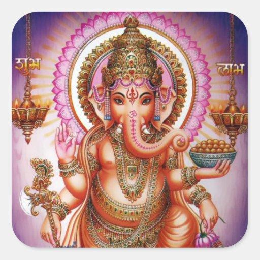 Etiquetas #7 de Ganesha Adesivo