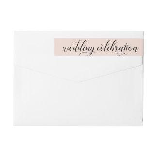 Etiquetas A celebração | do casamento cora rosa