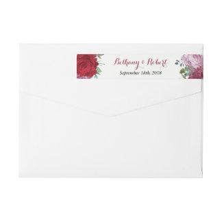 Etiquetas A coleção floral romântica do casamento