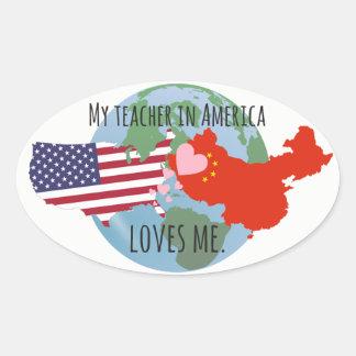 Etiquetas a enviar aos estudantes: EUA, amor