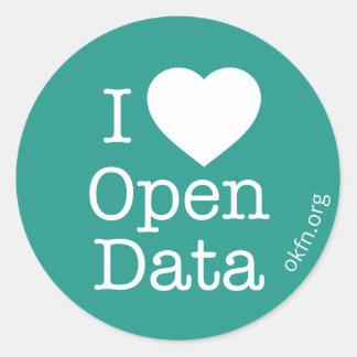 Etiquetas abertas dos dados do coração