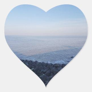 etiquetas adesivo coração