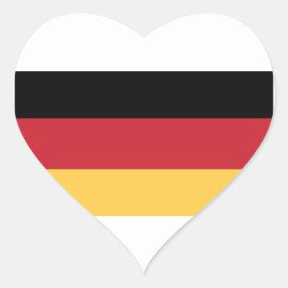 Etiquetas alemãs da bandeira