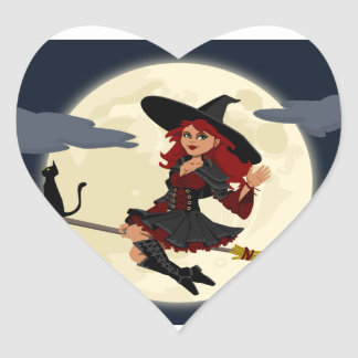 Etiquetas amigáveis felizes da bruxa do Dia das