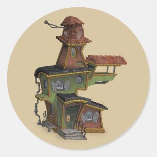 etiquetas assombradas steampunk da casa