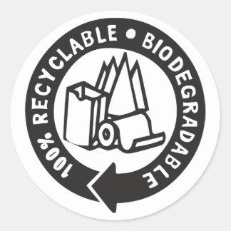Etiquetas biodegradáveis