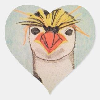 Etiquetas bonitos do pinguim