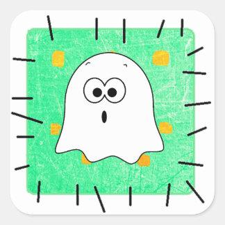 Etiquetas bonitos do remendo do fantasma do Dia