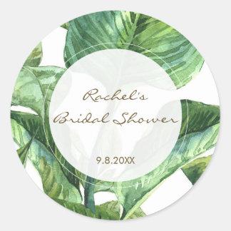 etiquetas botânicas do favor do chá de panela das