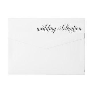 Etiquetas Celebração | do casamento preto e branco