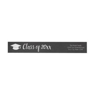 Etiquetas Classe de ano e de nome - o preto pode mudar a cor