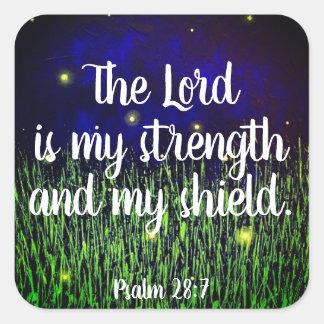Etiquetas cristãs da escritura da bíblia do 28:7
