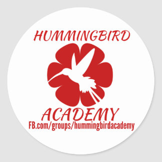 Etiquetas da academia do colibri