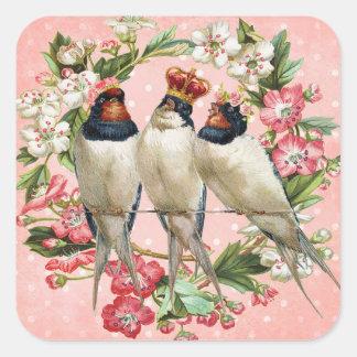 Etiquetas da andorinha de celeiro do pássaro do
