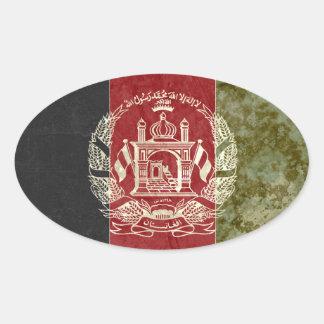 Etiquetas da bandeira de Afeganistão