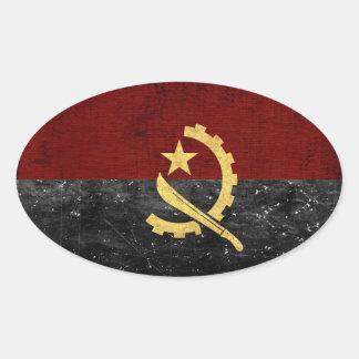 Etiquetas da bandeira de Angola