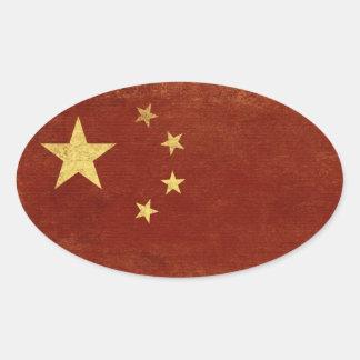 Etiquetas da bandeira de China