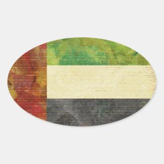 Etiquetas da bandeira de Dubai