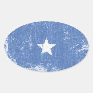 Etiquetas da bandeira de Somália