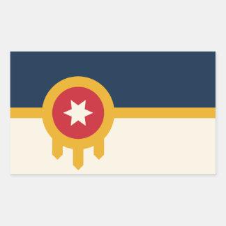 Etiquetas da bandeira de Tulsa