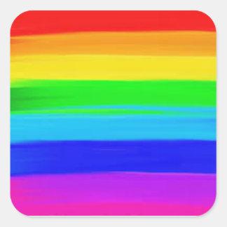 Etiquetas da bandeira do arco-íris