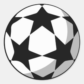 Etiquetas da bola da Champions League