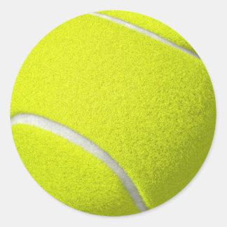 Etiquetas da bola de tênis