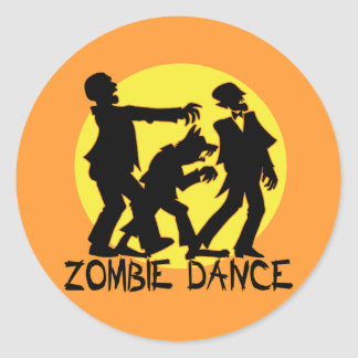 Etiquetas da dança do zombi/selos do envelope adesivo