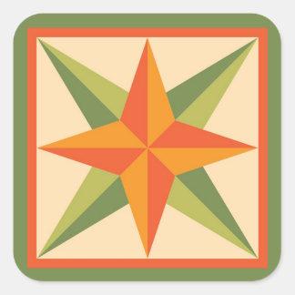 Etiquetas da edredão - estrela chanfrada