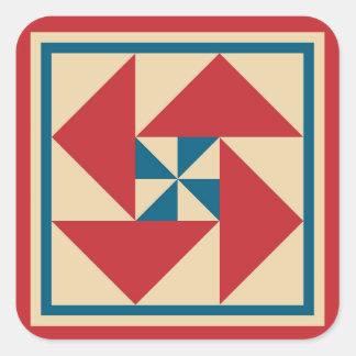 Etiquetas da edredão - rotação patriótica
