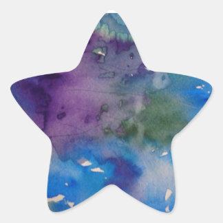 Etiquetas da estrela, lustrosas com design adesito estrela