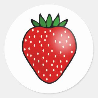 Etiquetas da fruta da morango