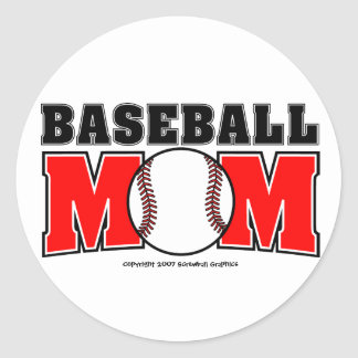Etiquetas da mamã do basebol