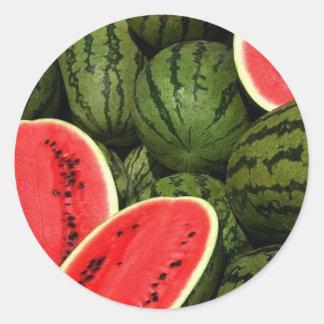 Etiquetas da melancia