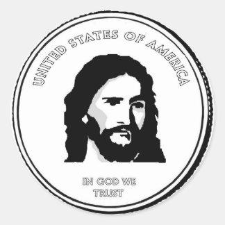 Etiquetas da moeda de Jesus