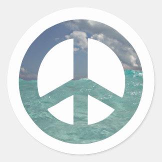 Etiquetas da paz de Grande Caimão